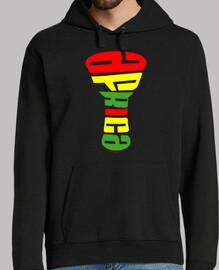 Djembe África tricolor