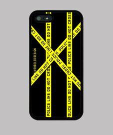 DO NOT CROSS iPhone 5. Premium
