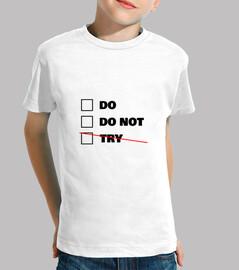 do or do not - star wars - yoda