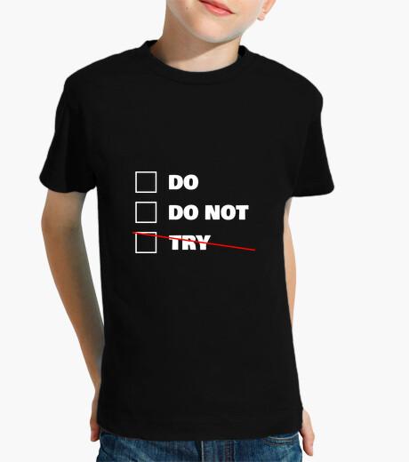 Do or do not - star wars - yoda kids clothes