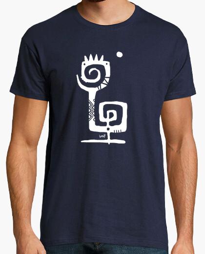Camiseta Doble espiral blanca