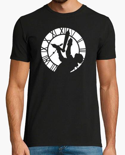 Tee-shirt Doc Brown dans la Tour de l'Horloge (Retour vers le Futur)