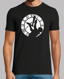 Doc Brown dans la Tour de l'Horloge (Retour vers le Futur)
