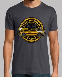 doc brown taxis / retour à l'avenir / hommes