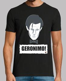docteur Who geronimo! (garçon et  femme  t)