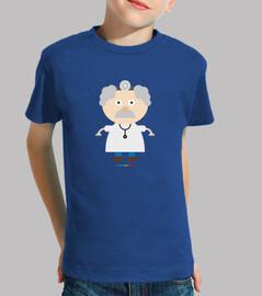 DOCTOR MÉDICO camiseta niños
