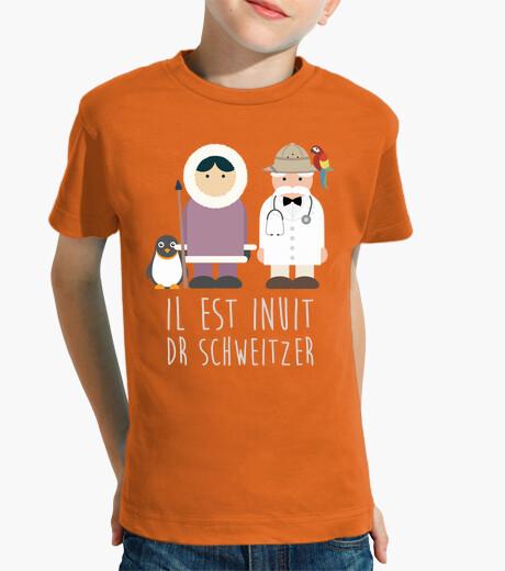 Ropa infantil doctor Schweitzer
