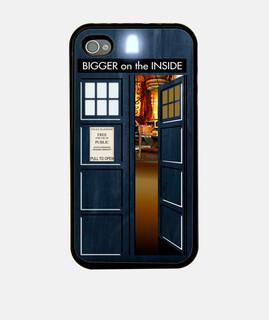 Doctor Who - TARDIS iPhone 4