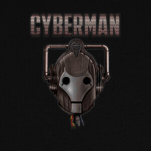 Camisetas doctor who, cyberman