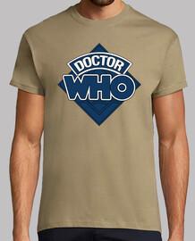 Doctor who emblema azul