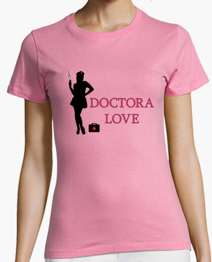 Camiseta Doctora Love silueta