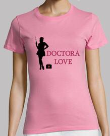 Doctora Love silueta