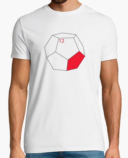 Tee-shirt dodécaèdre