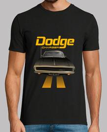 dodge charger 70 - line (black) (hts)