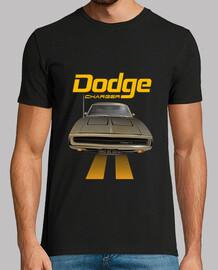 dodge charger 70 - line (gris) (hts)