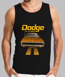 dodge charger 70 - line (orange) (hs)