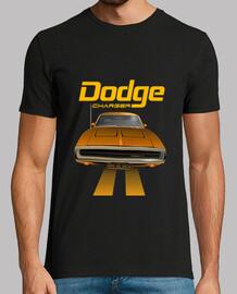 Dodge Charger 70 - line (orange) (HTS)