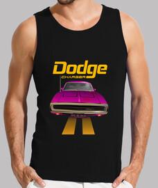 dodge charger 70 - line (pink) (hs)