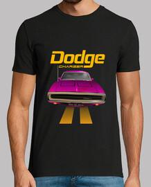 dodge charger 70 - line (pink) (hts)
