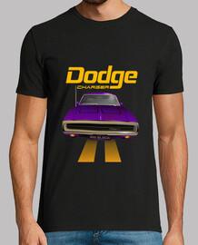 dodge charger 70 - line (purple) (hts)