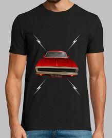 Dodge Charger 70 lightning - red - HTS