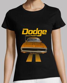 dodge charger 70 line - naranja - fts