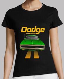dodge charger 70 line - verde - pies