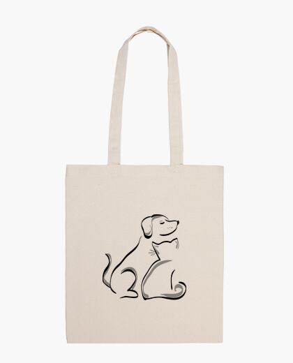 Dog and cat shoulder bag