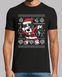 dog border collie dab disguise christmas