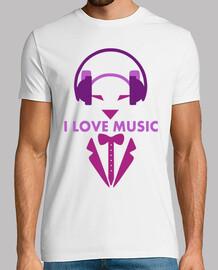 Dog love music