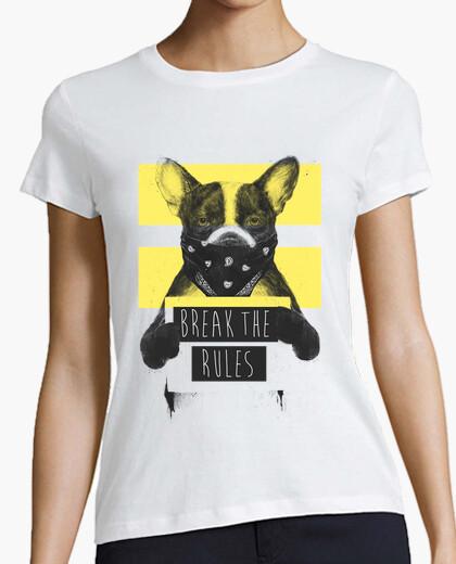 Dog rebel yellow 2 t-shirt