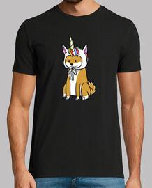 dog shiba inu unicorn