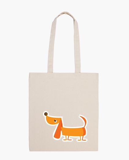 Dog sticker bag