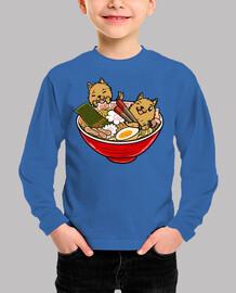 dog yorkshire terrier ramen