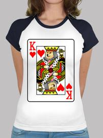 Doge Rey de Corazones, Camiseta estilo béisbol