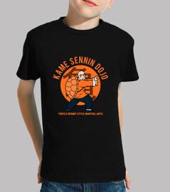 dojo kame t-shirt - kids neri