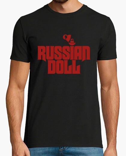 T-shirt doll russa