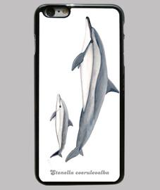 dolphin acrobat (stenella longirostris) iphone 6 case