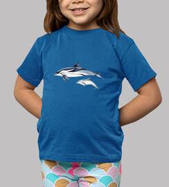 dolphin listed (stenella coeruleoalba) t-shirt