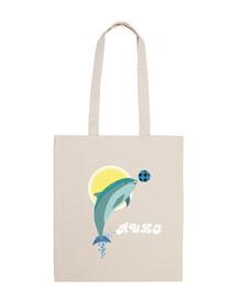 dolphin rouleau sac