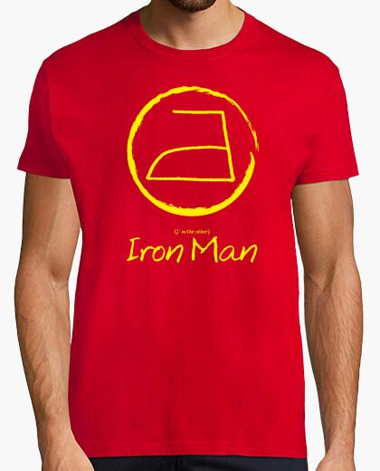 T-shirt domestico iron man