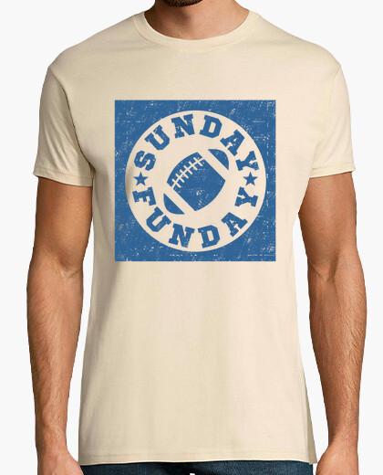 Camiseta domingo divertido