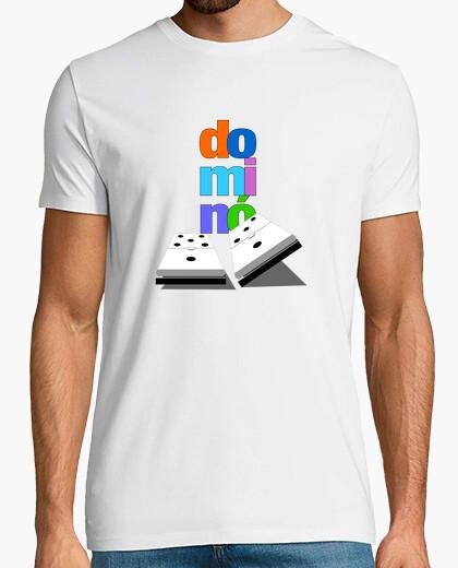 Tee-shirt domino