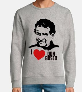 Don Bosco - Sudadera sin capucha, gris vigoré