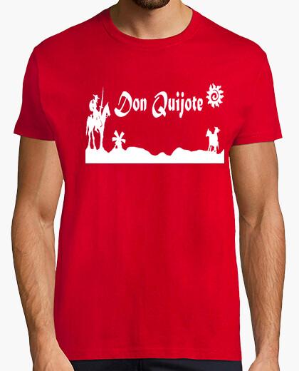 Camiseta Don Quijote de la Mancha y Sancho Panza