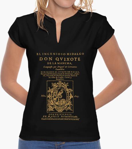 Camiseta Don Quijote. Primera página (revisited)