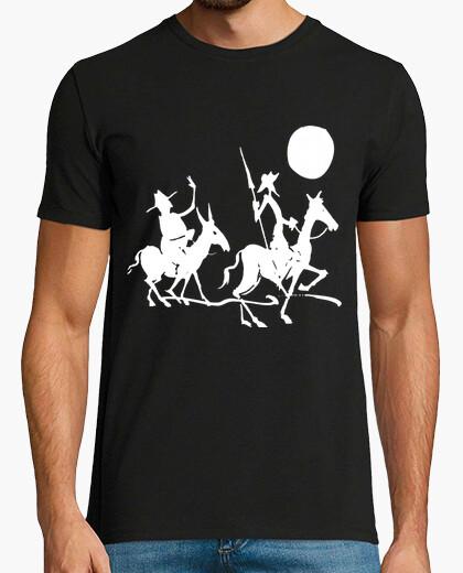 Camiseta Don Quijote y Sancho Panza