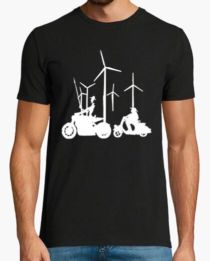 Camiseta don quijote y sancho panza blanco