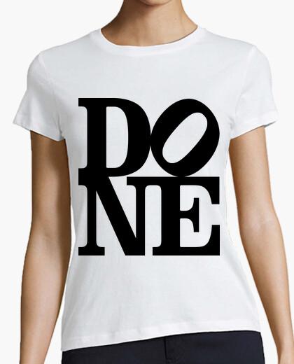 Camiseta Done (black)