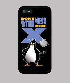 donn mess avec le x - couvrent l'iphone 5